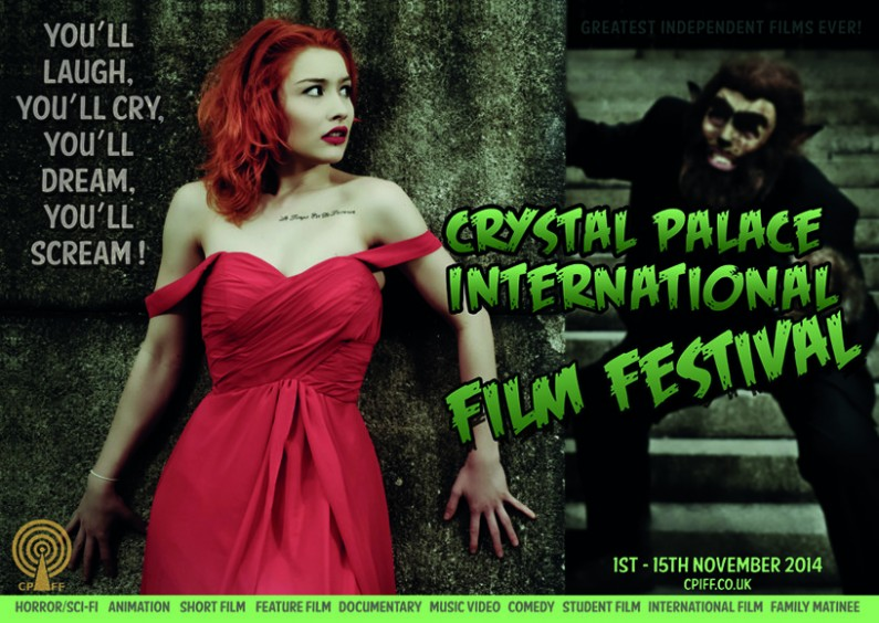 submit your film London film festival crystal palace UK